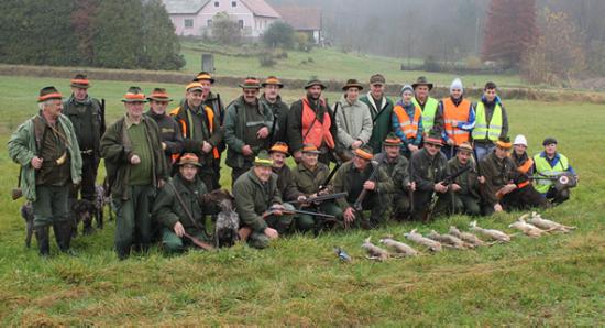 Veliki lov LD Ormož 2014